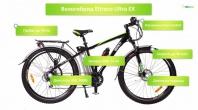 Электровелосипеды, или велогибриды, Eltreco Ultra